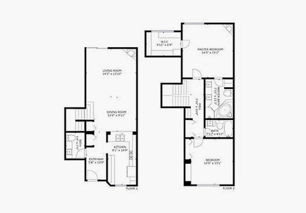 How are floor plans created?